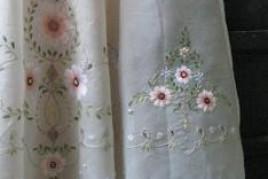 玻璃紗繡花